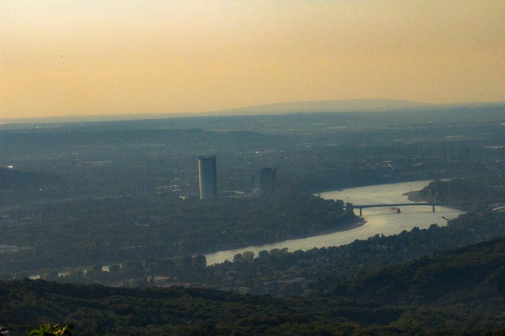 Ölberg-Aussicht auf Bonn und Rhein