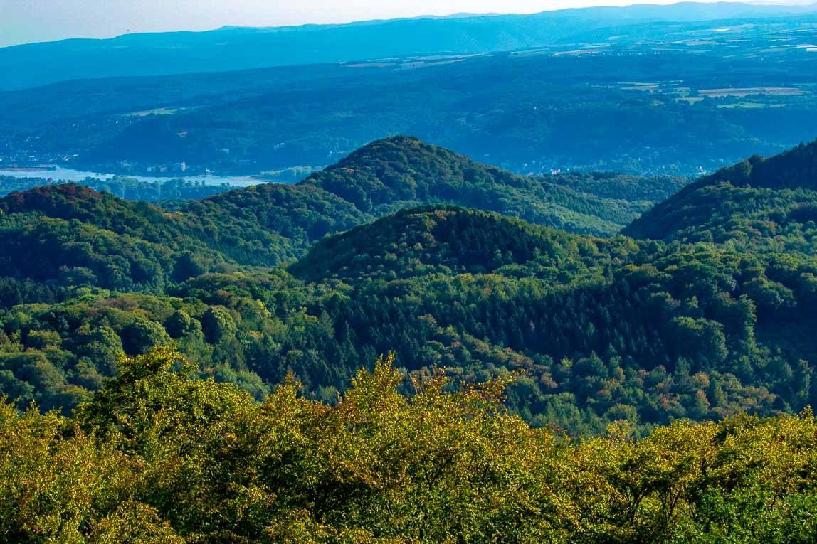 Ölberg-Aussicht auf das Siebengebirge