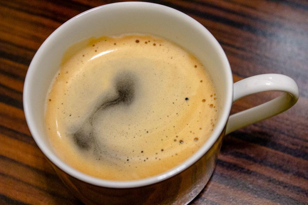 Kaffee Tasse Crema
